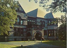 Forbes Library, designed by William Brockelsby